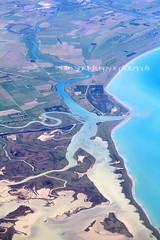 cloudy bay (rina sjardin-thompson photography) Tags: cloudybay aerial coastal coast coastline southisland rural rinasjardinthompson river rivermouth landscape blenheim flight newzealand nz