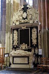 Tombeau de l'amiral Van Gendt - Cathédrale (Domkerk) Saint Martin d'Utrecht - Pays Bas (Vaxjo) Tags: paysbas netherland utrecht cathédrale domtoren domkerk