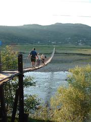 Fgghd a Nagy-g fltt (ossian71) Tags: ukrajna ukraine krptalja krptok carpathians hd bridge vzpart water foly river