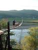 Függőhíd a Nagy-ág fölött (ossian71) Tags: ukrajna ukraine kárpátalja kárpátok carpathians híd bridge vízpart water folyó river