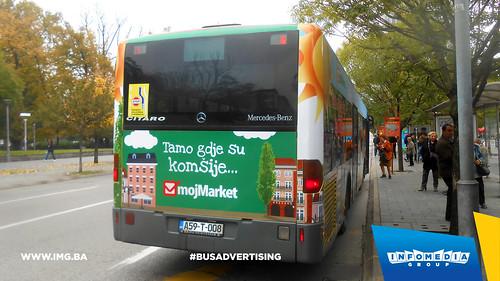 Info Media Group - Moj Market, BUS Outdoor Advertising, Banja Luka 10-2016 (2)
