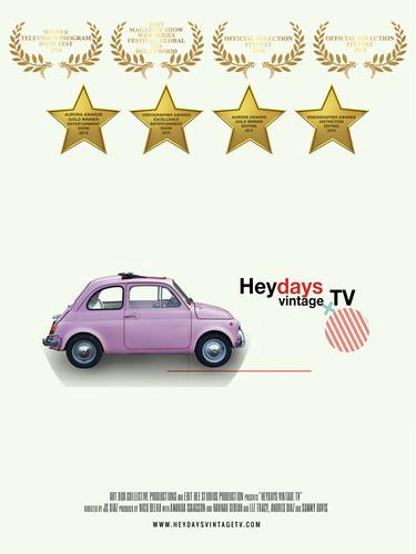 """""""Heydays Vintage TV"""" OWTFF 2016 Best WebSeries Award Nominee"""