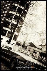Pontiac Grand Prix (Krueger_Martin) Tags: hdr photomatix 50mm asahitakumar5518 asahi takumar m42 manual manuallense canoneos5dmarkii canoneos5dmark2 car auto uscar berlin cantianstrase prenzlauerberg schwarz black schwarzundweis blackandwhite white festbrennweite primelense city stadt urban bokeh beyoundbokeh pontiac grandprix pontiacgrandprix
