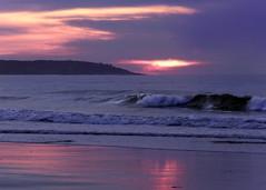 Gentle motion (Patricia McAtee - Photos of Maine) Tags: tide seacoast sea seascape serene ocean sunrise