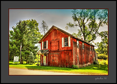 Wagon Works Bldg Horton MI 1870 (the Gallopping Geezer '4' million + views....) Tags: building structure old historic wagonworks horton mi michigan manufacturing 1870 rural smalltown backroad backroads country countryside canon 5d3 sigma 24105 geezer 2016