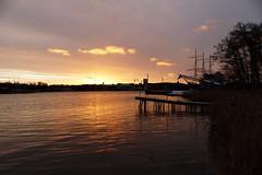 Sunrise (evisdotter) Tags: sunrise morning colors reflections jetty pommern sooc åland