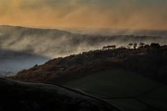 Shire Hill and Smoke (Tim Allott) Tags: haze quarry shirehill glossop sunset landscapephotography trees smoke pentaxk3 november2016