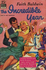 Dell Books 532 - Faith Baldwin - The Incredible Year (swallace99) Tags: dell vintage 50s romance paperback sbjones carousel