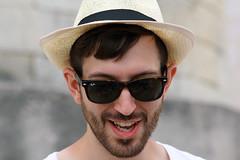 Boss (Work in progress.) Tags: primopiano portrait ritratto estate puglia rayban cappello