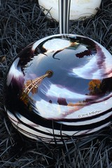 Not The Usual Space Needle View (Art By Pem Photography: Tao Of The Wandering Eye) Tags: canon canoneosrebelsl1 eos sl1 travel usa seattle washington spaceneedle glassball reflection reflections distortion abstract scenicsnotjustlandscapes shapes