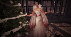 We had a nice Christmas Tree (Pilar Munro 2) Tags: swankevent sas nailedit hj azoury gown christmas tree puppy maskevents pilarmunro blogger blog baxeposes