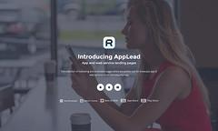 demo-19 (R_GENESIS) Tags: app landing page rgen applead themeforest premium marketing showcase