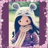 Mäuschen (Lenekie) Tags: amigurumi doll crochet handmade toy