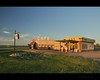 So this is gone now. (Gordon Hunter) Tags: cornergas corner gas film set ruby cafe tv movie canada prairies sitcom rouleau saskatchewan sk summer evening sunset gordon hunter dogriver