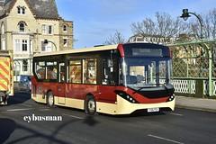 East Yorkshire 507, YY66PGV. (EYBusman) Tags: east yorkshire motor services eyms hull bus coach brand new valley bridge scarborough district alexander dennis enviro 200 dart yy66pgv eybusman