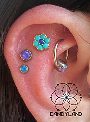 """Triple flat piercings • <a style=""""font-size:0.8em;"""" href=""""http://www.flickr.com/photos/122258963@N04/13611251483/"""" target=""""_blank"""">View on Flickr</a>"""