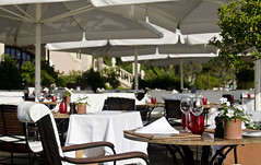 St Regis Restaurant (William J H Leonard) Tags: travel travelling restaurant hotel spain europe mediterranean european spanish tables mallorca espagne westerneurope majorca stregis southerneurope balearicislands balearic travelphotography mallorcan majorcan baleric balearicarchipelago islasbelearas