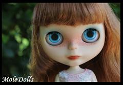 OOAK Custom Neo Blythe Doll N.80 by Carmen - MoleDolls