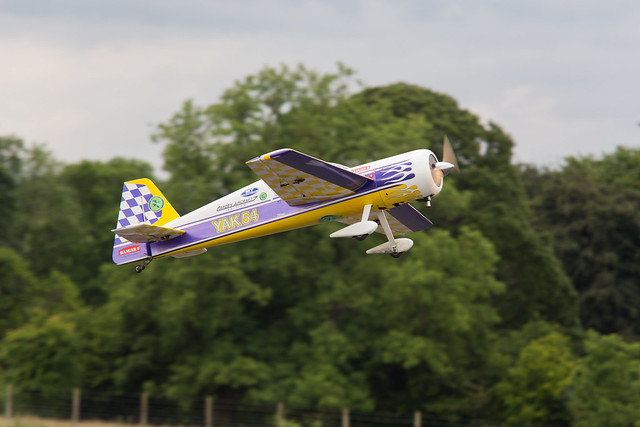Phil with the Carden Yak 54
