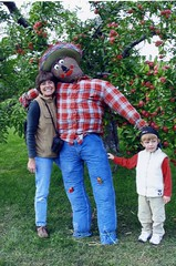 Scarecrow- Atkins Farms, Amherst (Massachusetts Office of Travel & Tourism) Tags: autumn fall nature ma outdoors massachusetts scarecrow orchard apples familyfun applepicking amherst atkinsfarms