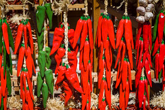 Red and Green Jalapeno Chili Ceramic Ristras (julesnene) Tags: cooking ceramic display decoration string welcome ristra ristras redchile driedchiles goodluckcharms redchiles canoneos50d canonefs1755mmf28isusmlens julesnene juliasumangil ceramicristra greenjalapenochili greenjalapenoristra redjalapenoristra
