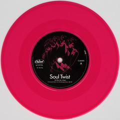 Mink Deville - Soul Twist (Leo Reynolds) Tags: pink colour vinyl single record squaredcircle disc platter 45rpm 7inch xleol30x sqset110 xxx2014xxx