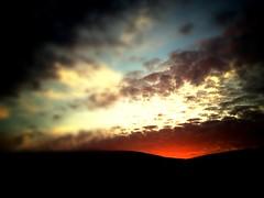 clats du soir... (david.beuret) Tags: sunset nature landscape switzerland suisse jura paysage couchdesoleil 2014 delmont iphone4s