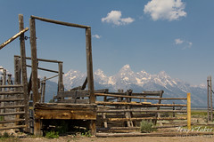 The remnants of a Mormon settlement in Grand Teton National Park