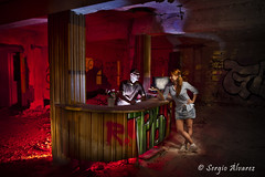 Hotel Inferno (Sergio Alvarez Carmona) Tags: longexposure lightpainting bulb maglite alzira longexpo fotografianocturna minimaglite nightphotografy maglite3d sergioalvarez augustollacer