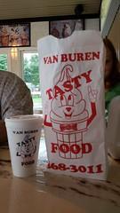 Van Buren Tasty Food (Joe Shlabotnik) Tags: cameraphone maine vanburen 2014 tastyfood galaxys5 august2014