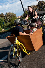 Finch-fiets unveiling at Velo Cult-17 (BikePortland.org) Tags: cargobikes metrofiets emilyfinch finchfiets