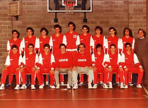 Collegno Basket Juniores Nazionali 69-70 AS 1985-86