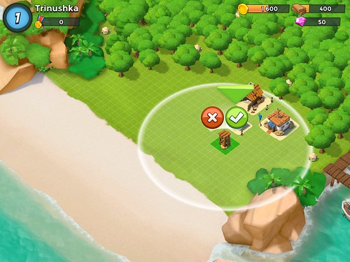 Boom Beach Building: screenshots, UI