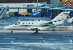 G-EDCK. Cessna 525 CitationJet CJ1 (Ayronautica) Tags: march aviation 2009 cessna luton citation citationjet bizjet corporatejet eggw execjet cessna525citationjetcj1 c525 gedck ayronautica