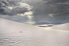 Dunes (Tom Haymes) Tags: newmexico clouds whitesands dunes dune thunderstorm whitesand sanddunes darkclouds whitesandsnewmexico whitesandsnationalmonument whitesandsnationalmonumentnewmexico