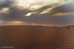 HDR (zemblated) Tags: sunset color sand desert algerie  souf