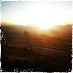 morning light (martinalinnea) Tags: sunrise landscape morninglight soluppgng 2014 morgonljus iphoneography hipstamatic kodotxgrizzledfilm janelins lebrcke
