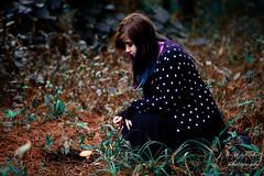A magic in my eyes... (NIZER FONTOURA ARTIST) Tags: mushroom girl forest mush room magic fairy ethereal cogumelo magical faerie faeries whimsical mágico fada fadas mágica