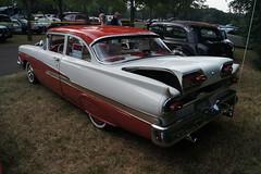 1958 Ford Custom 300 (DVS1mn) Tags: new london car brighton antique run era brass brassera newlondontonewbrighton nlnb nlnbacr 28thannualnewlondontonewbrightonantiquecarrun
