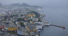 Alesund from Fjellstua (GillWilson) Tags: norway alesund