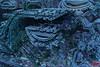 Alien City (Richard Hayward Photography) Tags: world city blue green art strange wall modern digital buildings print photography for robot photo mechanical zoom sale alien digitalart machine canvas richard future buy fractal hayward futuristic rhp mandelbulber