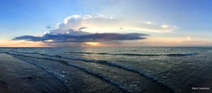 sunset panorama sun lake seascape color beach apple... (Photo: mswan777 on Flickr)