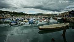 Lyme Regis Quay (Iain A Wanless) Tags: boat quay dorset hdr lymeregis sonynex7