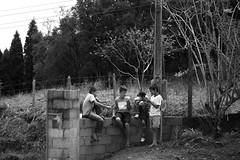 Little boys (M.Mantovani) Tags: brazil bw white black nature boys meninos branco brasil kids landscape photography child natureza pb preto sp crianas ibiuna
