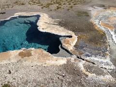 Hydrothermal pool (cjazzlee) Tags: yellowstone hydrothermal