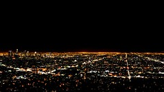 Downtown Los Angeles from Griffith Observatory (hectro805) Tags: landscape la losangeles nikon griffithobservatory dtla downtownlosangeles d5100
