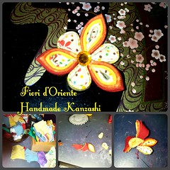 Making a kanzashi  Fioridoriente #fioridoriente #handmade #kanzashi #fabric #fiori #fleur #flores #flowers #fiore #flor #flower #fleurs #fashion #style #Japan #regalo #gift #hairpins #hairclip #fermagli (fioridoriente) Tags: flowers flores flower fleur fashion japan fleurs handmade flor style fabric gift fiori fiore regalo hairpins hairclip kanzashi fermagli fioridoriente
