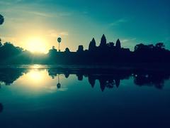 Sunrise at Angkor Wat - 095