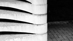 Going Up (Mike Kniec) Tags: blackandwhite bw abstract texture stairs canon manchester concrete blackwhite stairway concretestairs abstractstairs canon40d