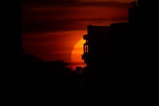 Brixton Sunset.